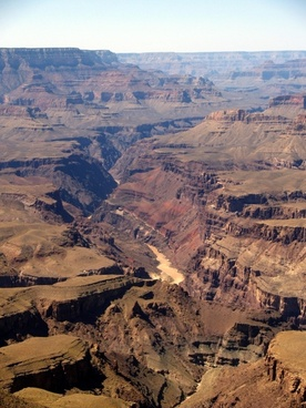 grand canyon tourist attraction rocky terrain