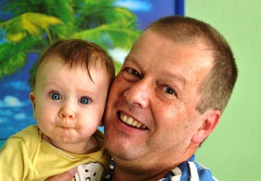 grandpa and grandson human grandpa