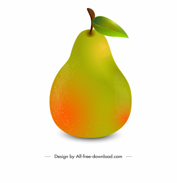 grape fruit icon shiny colored modern design