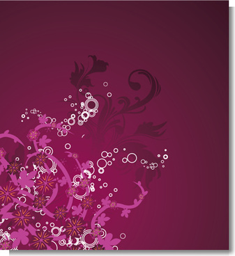 grape vines vector background
