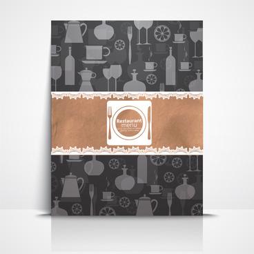 graphic illustration restaurant menu