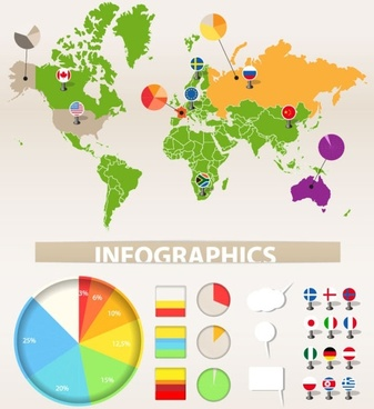 graphical chart 02 vector
