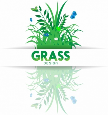 grass background green reflection design