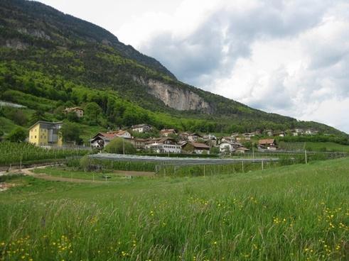 graun italy landscape