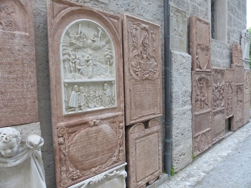 grave stones inscription cemetery
