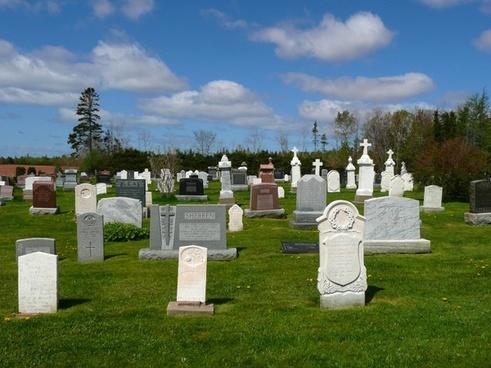 graves cemetery church
