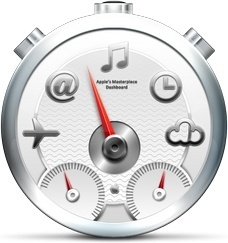 Gray multi functions clock