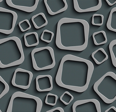 gray plate perforated vector seamless pattern
