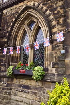 great britain flag bunting