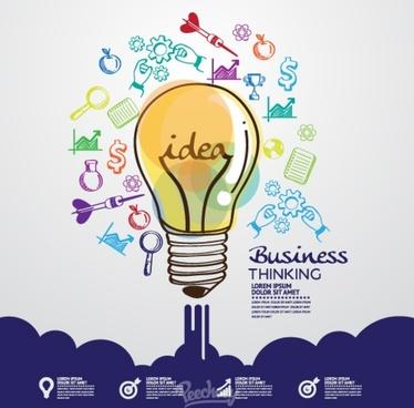 great ideas concept illustration