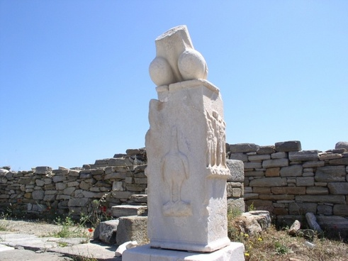 greece delos art