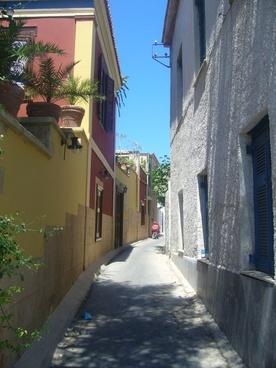 greece summer street
