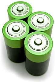 green battery picture