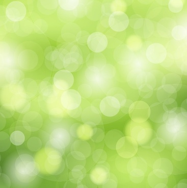 green bokeh background vector illustration
