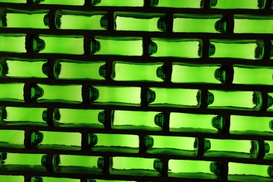 green bottle background