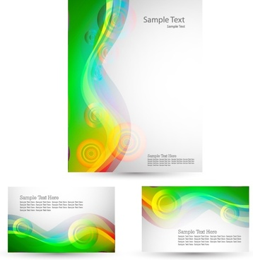 decorative backgrounds bright colorful abstract dynamic curves