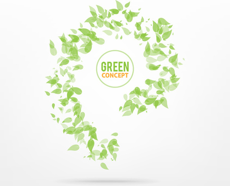 green concept background