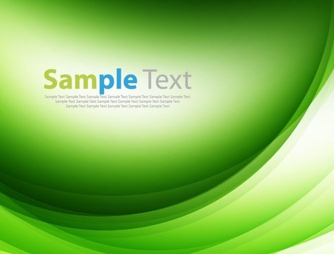 green design abstract background vector illustration