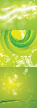 decorative backgrounds modern bright green bokeh dynamic decor