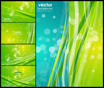 green fantasy background vector