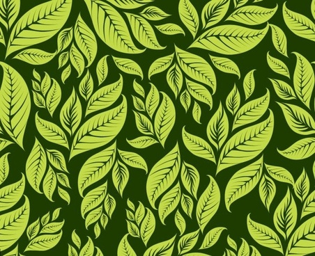 green leaves background classical dark decor