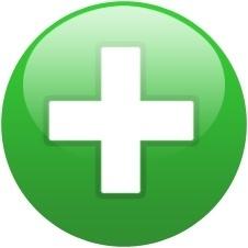 Green globe cross
