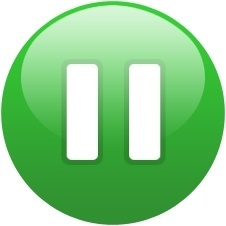 Green globe pause