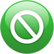 Green globe turn off