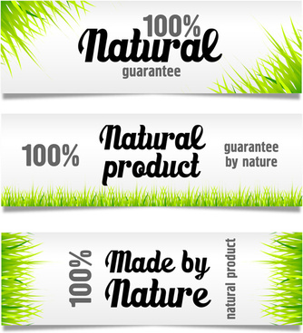 green grass with sale banner vector