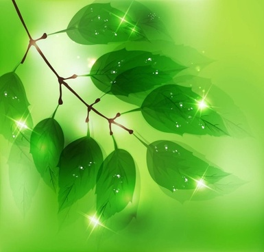green halo background 04 vector