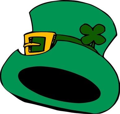 Green Hat clip art