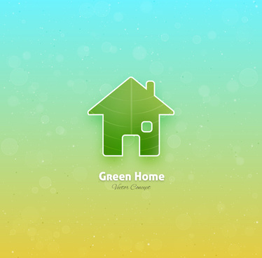 green home concept icon