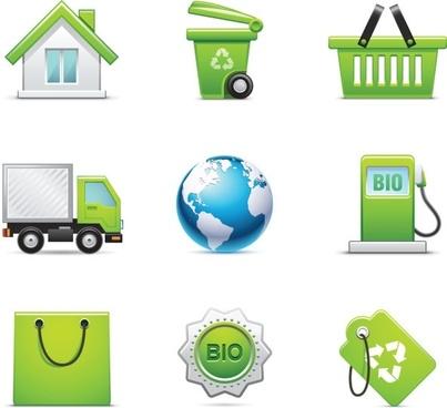 green icon 01 vector