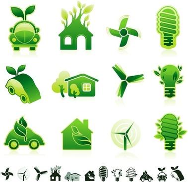 green icon vector