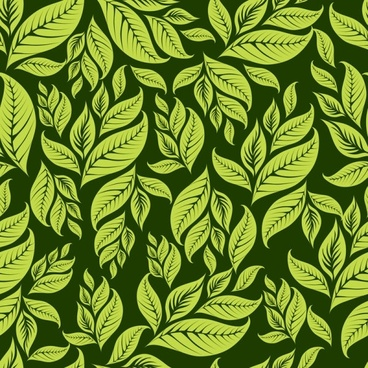 green leaf background 03 vector