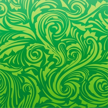 green leaf background 05 vector