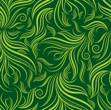 green leaf background vector