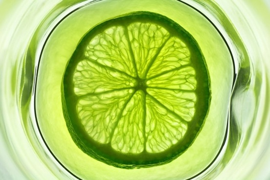 green lemon slices highdefinition picture 2
