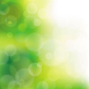 decorative background modern vivid bokeh green decor