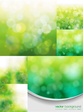 green natural background vector graphic
