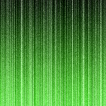 green neon lines