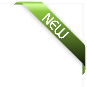 green new ribbon vector