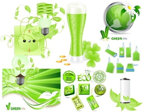 green series vector