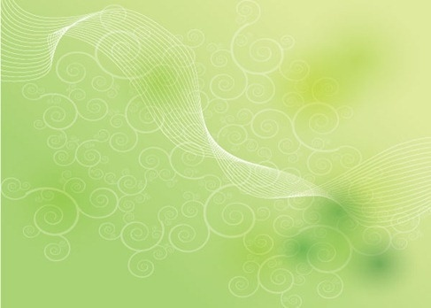 Green Shape Background Vector