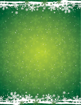 green snow background vector