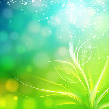 green style blurred background vector