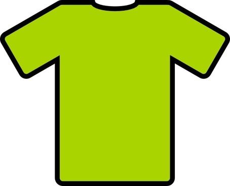 Green T Shirt clip art