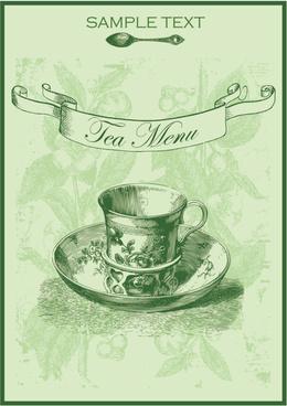 green tea menu