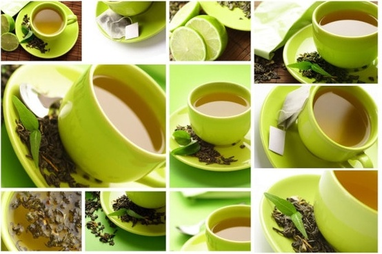 green tea theme of highdefinition picture