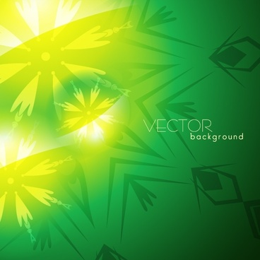 nature background template vivid green leaves sketch